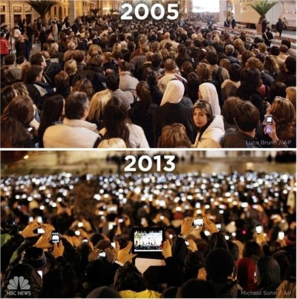 Papstwahl 2005 zu 2013