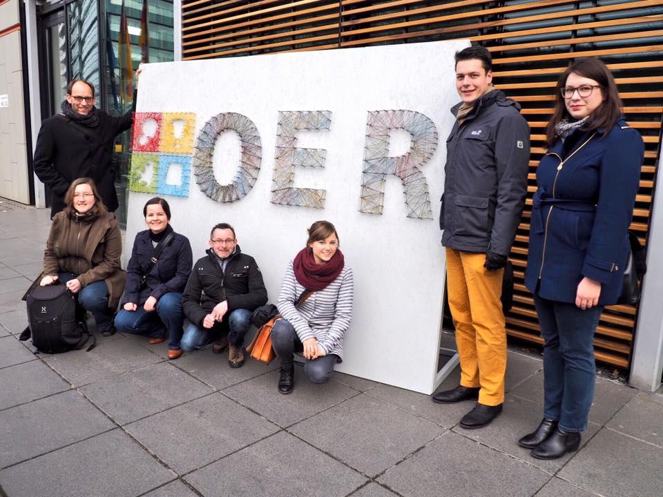 oncampus beim OER-Festival